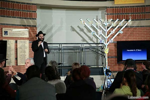 Jewish, Deaf and Proud at Historic Chanukah Events