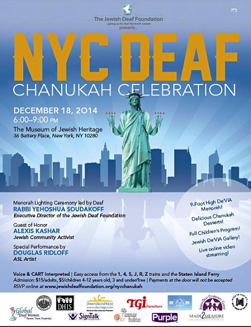 NYCDeaf Chanukah Celebration