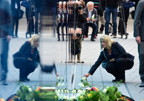 Germany opens national memorial to Nazis' disabled victims