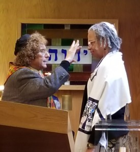 AMAZING GRACE: She is African American, hearing impaired, and a senior citizen. Tirtzah Israel's path from her Baptist church upbringing to becoming an ordained Chicago rabbi