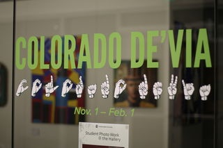 The Curfman Gallery displays new exhibit focusing on the deaf experience