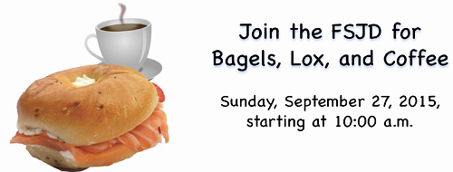 Join for Bagels, Lox and Coffee in Boynton, FL!