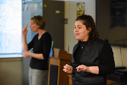 Rainbow Center presents a crash course in LGBTQ American Sign Language