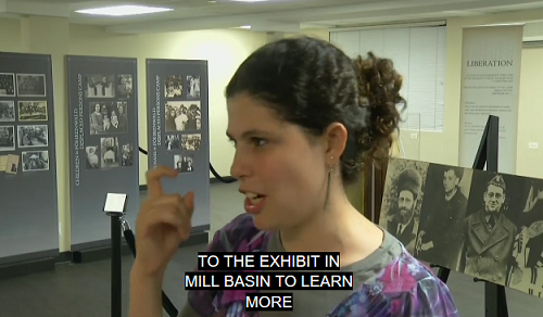 Holocaust exhibit for the deaf opens in Mill Basin