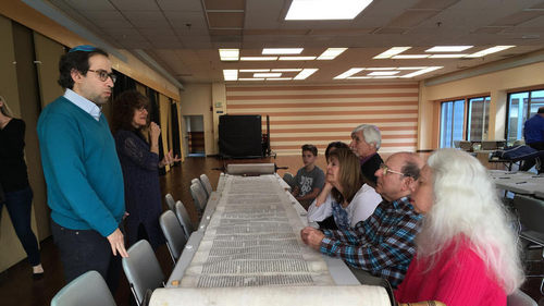 Laurel synagogue invites community to help restore Torah