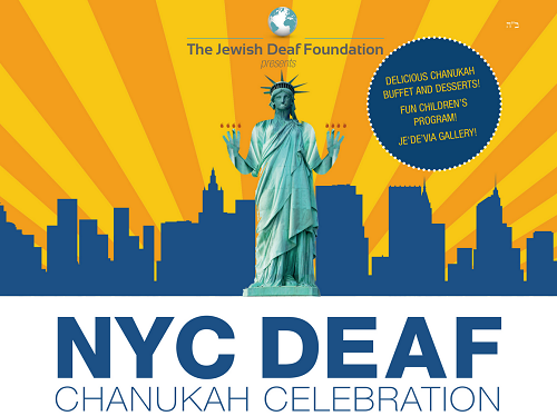 NYC Deaf Chanukah Celebration
