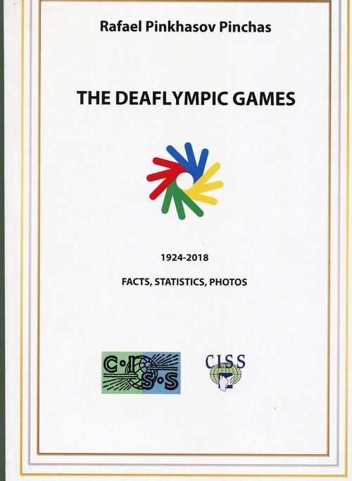 A New Book - The Deaflympic Games, 1924-2018: Facts, Statistics, Photos