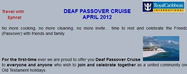 DeafPassover