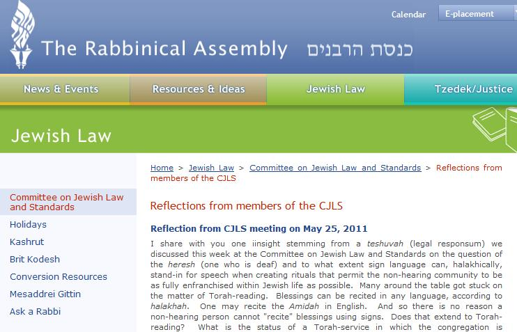RabbinicalAssembly