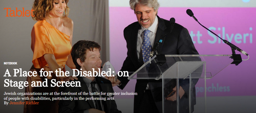 A Place for the Disabled: on Stage and Screen