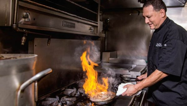 A hearing impairment never deterred Chef Darren Weiss from pursuing his dreams …